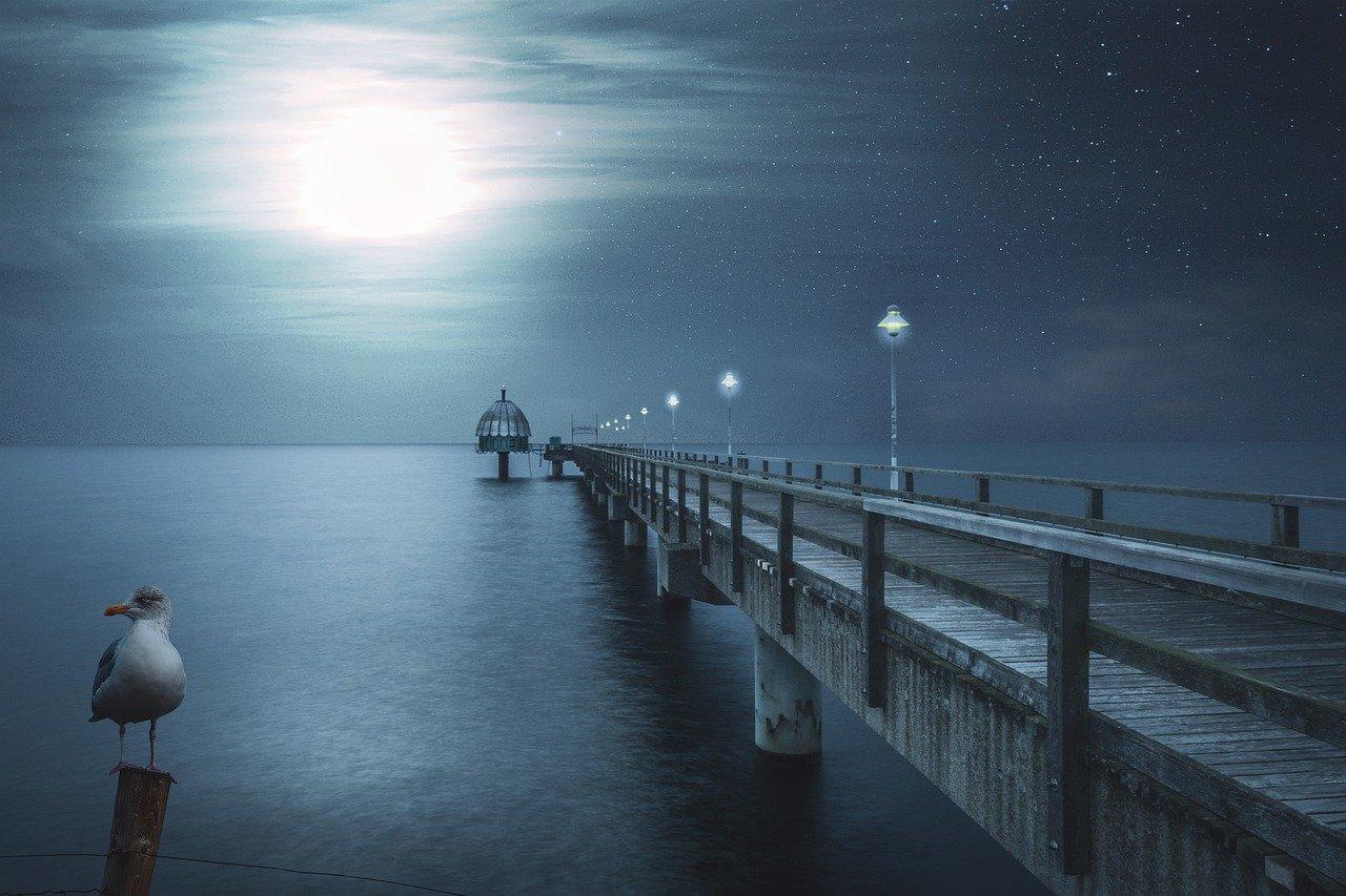 Landschaftsbilder Abendstunden SEO